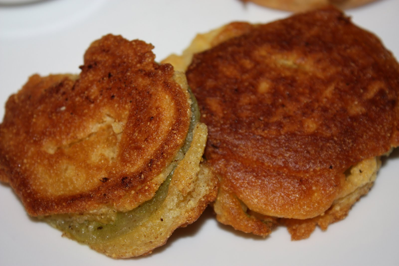 Kendra's Recipes: Fried Green Tomatoes
