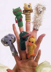 Пальчиковые куклы (театр на ладошке) .