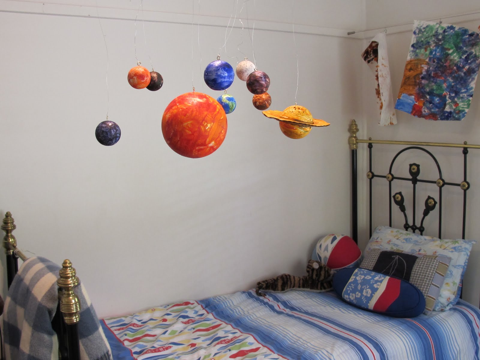How To Make A Rotating Solar System Project For School ...