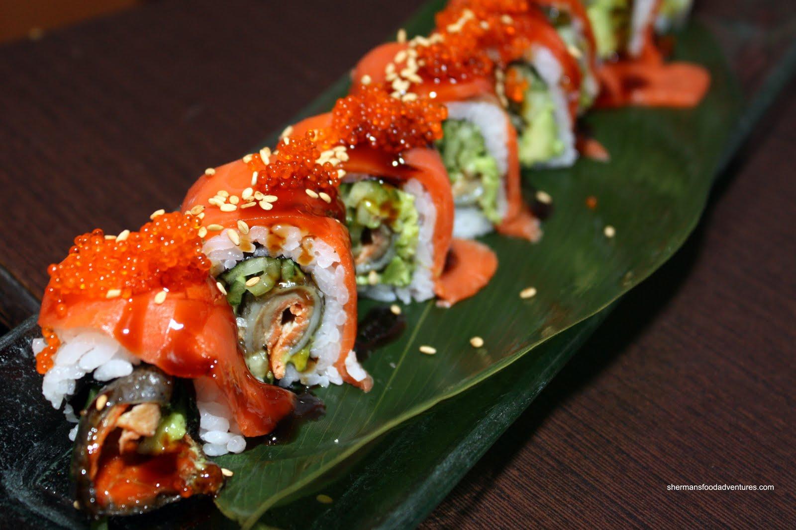 Sherman's Food Adventures: King Sushi