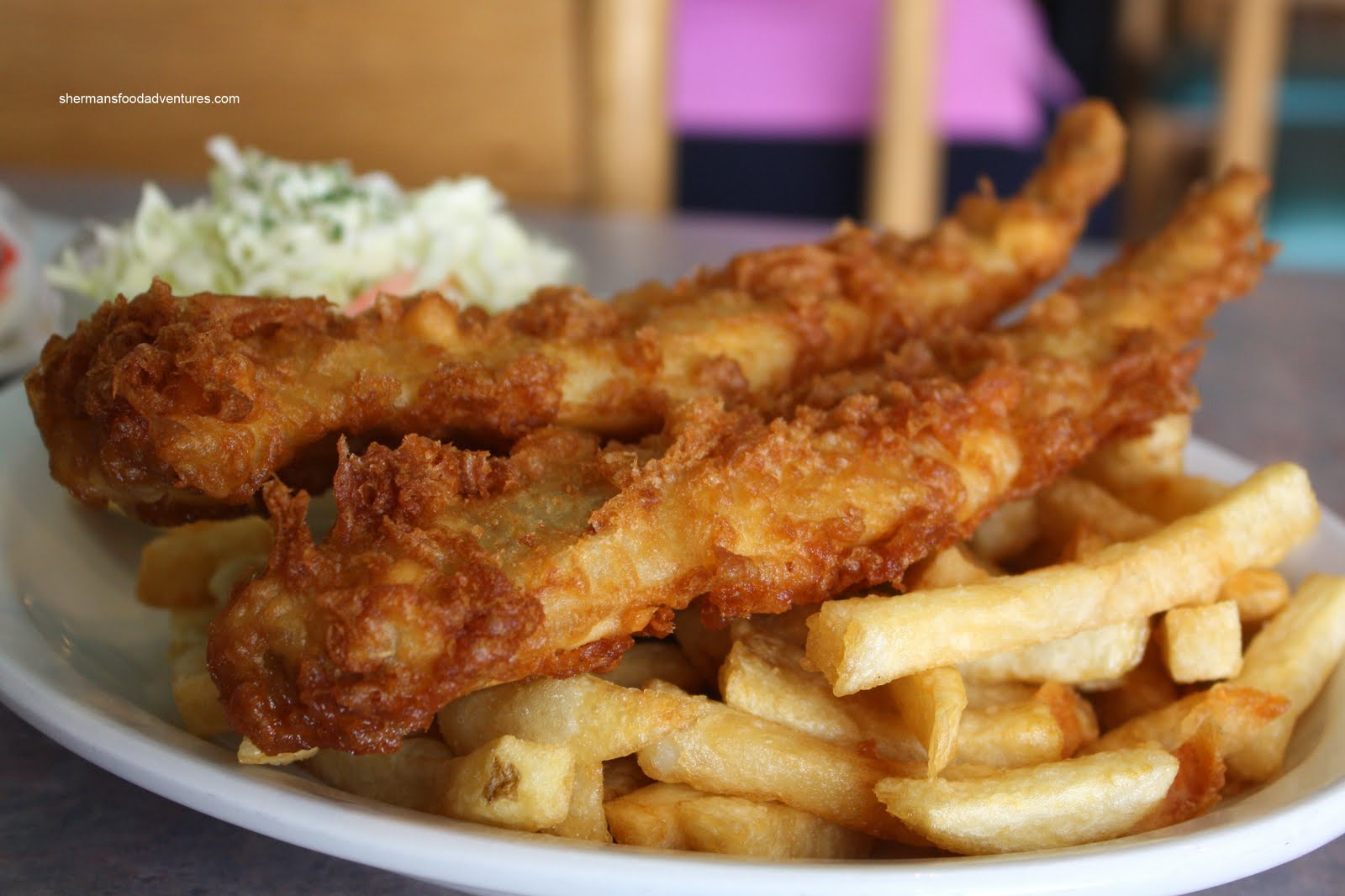 Sherman 39 s food adventures austin fish chips for Fish chips near me