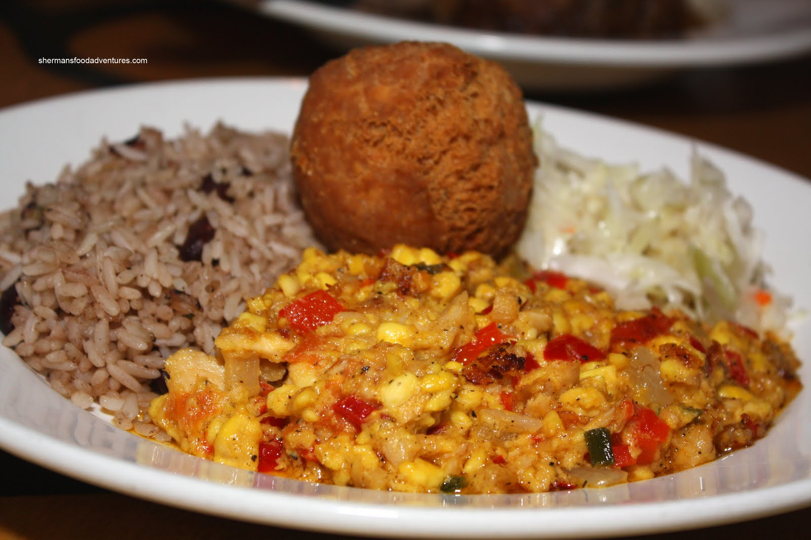 Sherman 39 s food adventures the reef commercial for Salt fish ackee