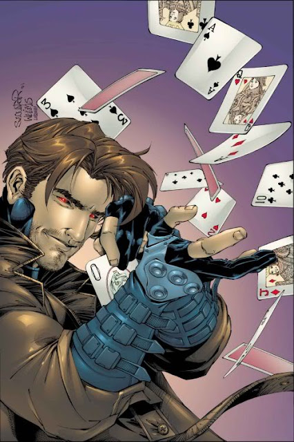 Gambit badass comic book hero