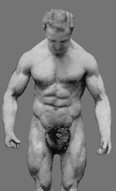 mighty physique of Bobby Pandour