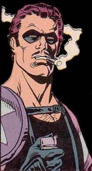 The Comedian badass comic book hero