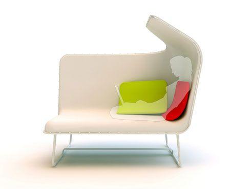 Our Little White Sofa design
