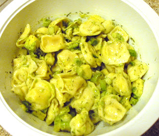 Avocado Tortellini Salad