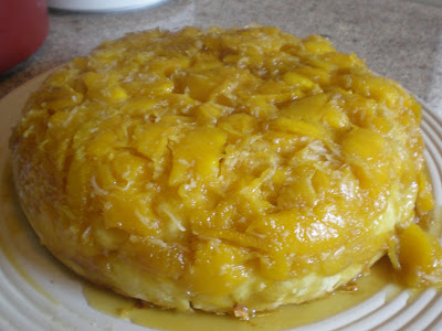 Mango Upside Down Cake