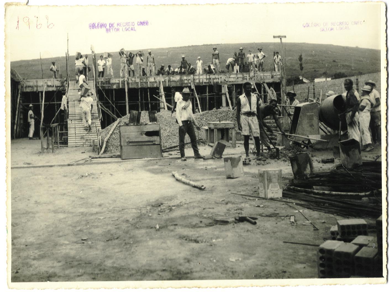 CONSTRUÇÃO DO GINÁSIO DE RECREIO