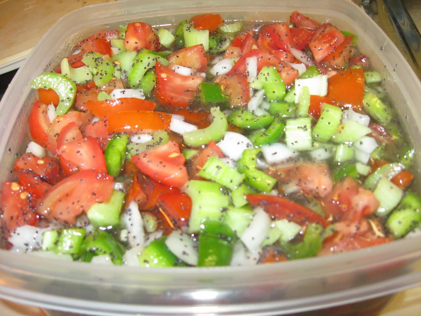 Mom's Kitchen: Marinated Vegetable Salad