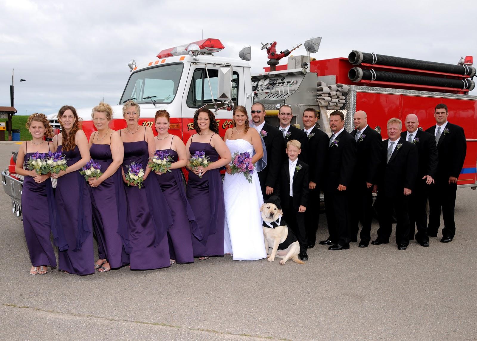 Fire Department Wedding  Ashley Skowronek