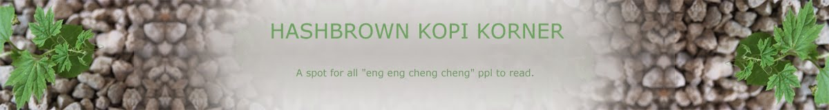 hASHbrown Kopi Korner