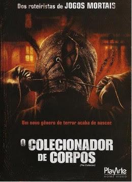 Filme Poster O Colecionador de Corpos DVDRip RMVB Dublado-Telona