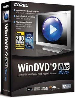 www.baixae.com Download Corel WinDVD 9.0.014.137 Plus Blue ray + Keygen
