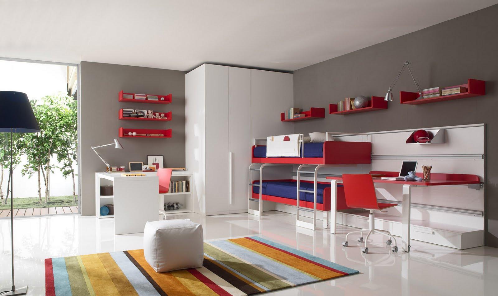 Decora y disena dormitorios juveniles modernos for Recamaras juveniles modernas