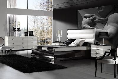 Registro de residencias y otros lugares Dormitorio+blanco+y+negro