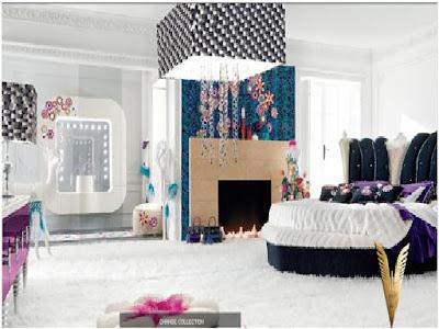 foto de dormitorio de lujo