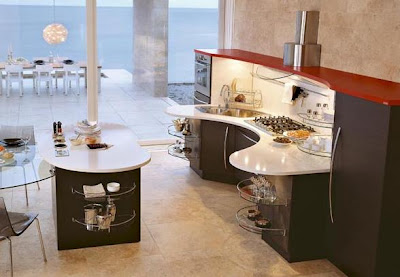 fantasy kitchen interior