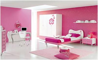 Decora y disena fotos de dormitorio rosado - Disena tu dormitorio ...