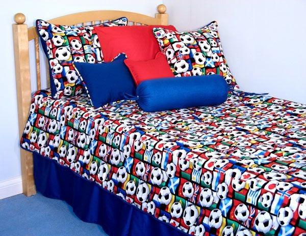 Decora y disena decorando tu dormitorio para el mundial 2010 - Disena tu dormitorio ...