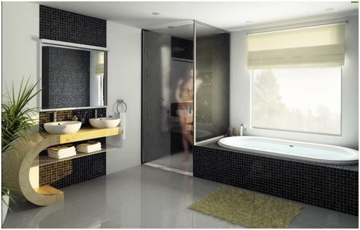 Diseno De Baños Elegantes:Hermosas Imágenes de Diseño de Baño Elegantes por Limestudio