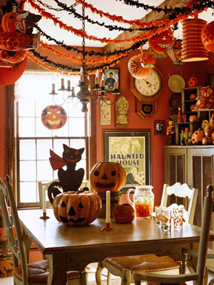 decoracion interior halloween
