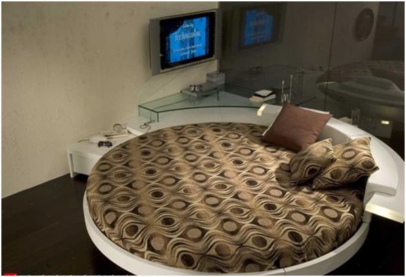 decora y disena rec maras matrimoniales con camas redondas On recamaras redondas