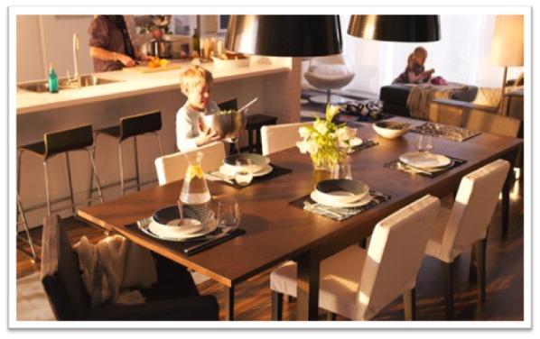 Decora y disena 5 fotos comedores modernos ikea 2011 - Ikea planificador comedor ...