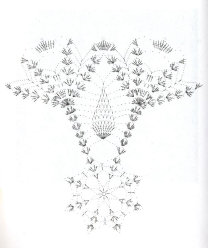 Ghasal\'s Kreativblog: Deckchen, Filethäkeln ... Ananasmuster,
