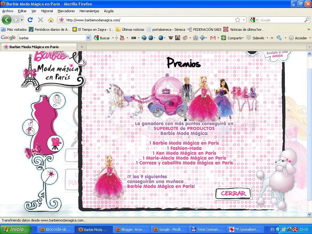 Barbie Moda Magica En Paris Concurso