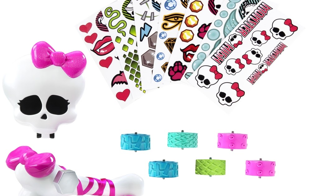 Monster High-Pretty : Maquina de Tatoos Monster High