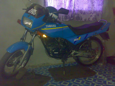 my bike...5speed(ABK 8750)