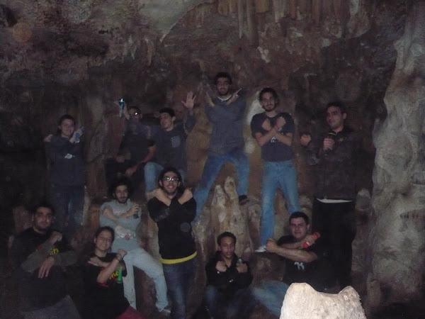 Caving in Aramoun