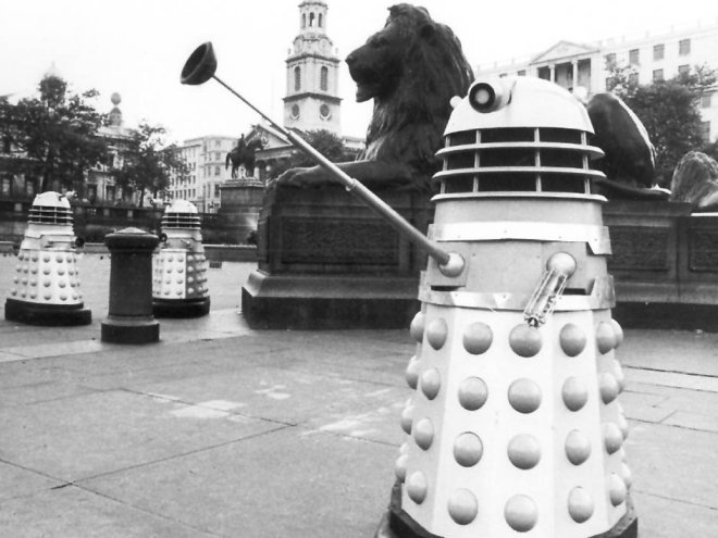 The Dalek Invasion of Trafalgar Square!