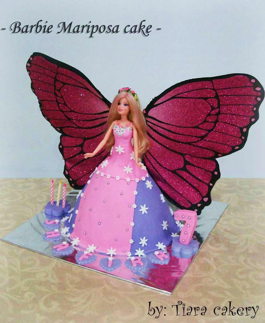 How To Draw Barbie Mariposa