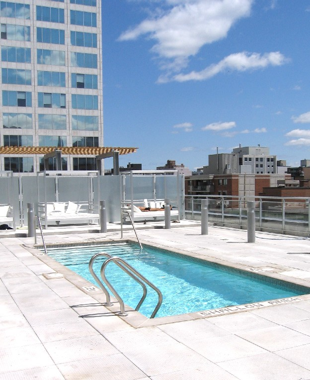 Ottawa Condo Blog The Mondrian Now Complete Pool Party Anyone