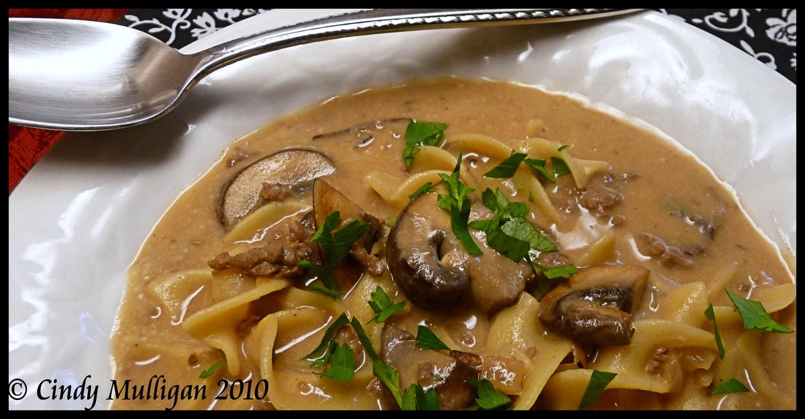 Gumbo Ya Ya: Beef Stroganoff Soup