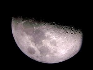 Moon over Albuquerque