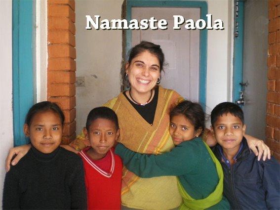 Namaste Paola