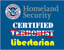 Homeland Security Certified Terrorist