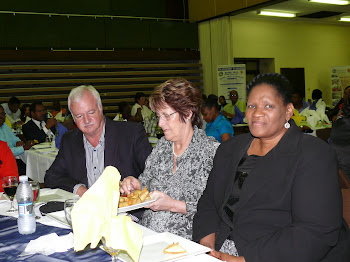 member of Parliament- Lynette Zwane and Deputy Mayor of HCM  Johnny de Wet and his wife