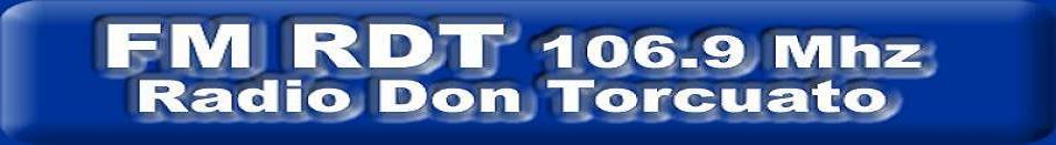 "PAGINA ""RDT"" 106,9  RADIO DON TORCUATO. http://www.fmrdt.blogspot.com"