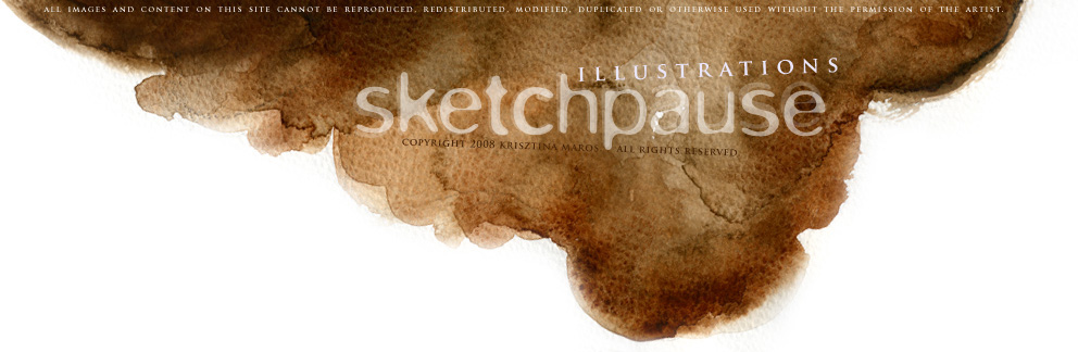SKETCHPAUSE - illustrations