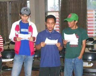 Tenor rehearsal, Dec. 13, 2007