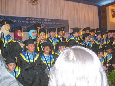 Several of graduates
