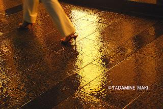 The rainy season, Tokyo