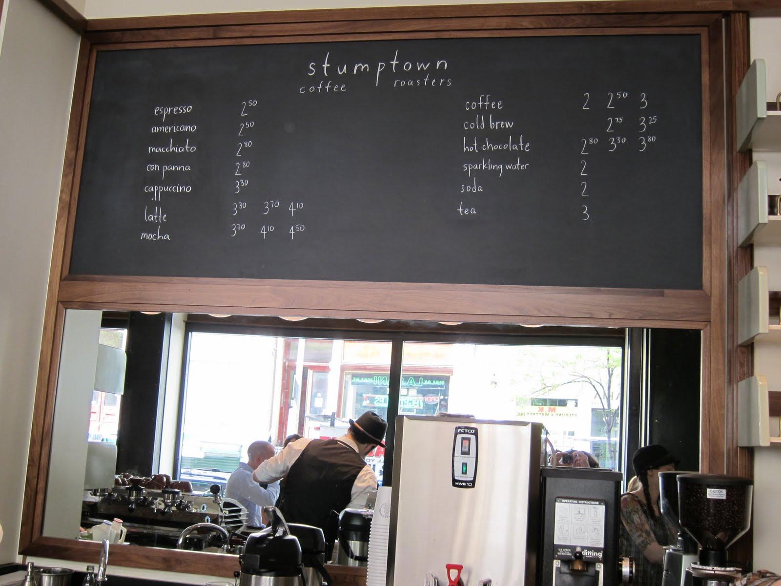 Cafe  Portland Menu