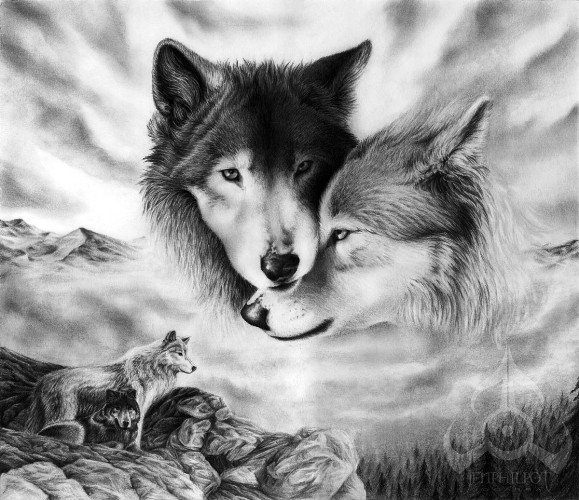 http://www.tatuajes.im/wallpapers/tribal_lobo_fuego-1819.jpg