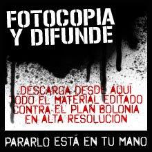 fotocopia y difunde - bolonia - cce