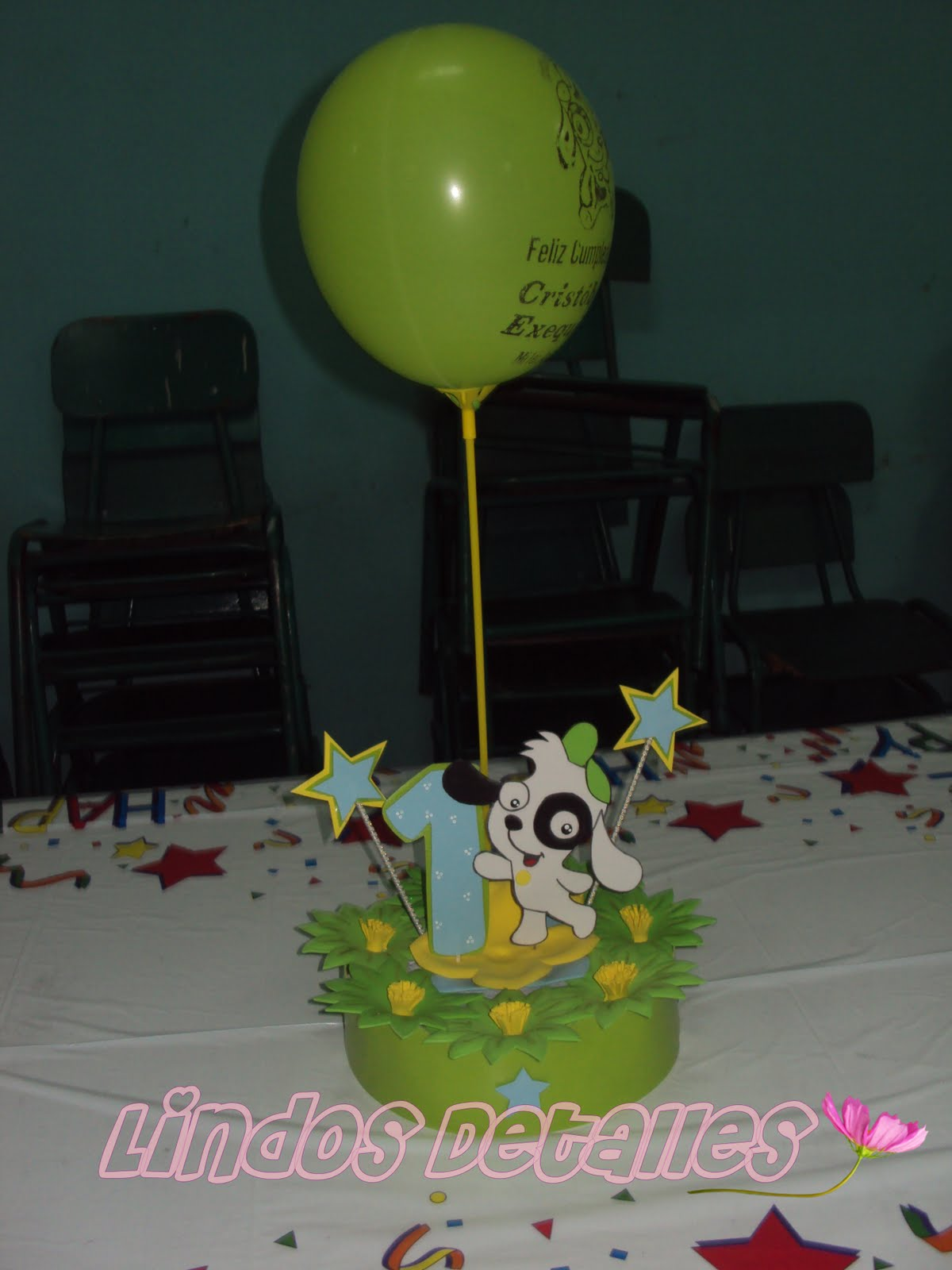 Piñata Doki - Centros de mesa